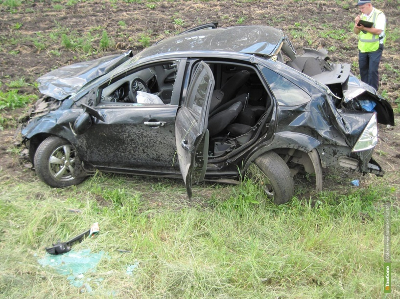 4 человека пострадали в ДТП на трассе «Тамбов-Пенза»
