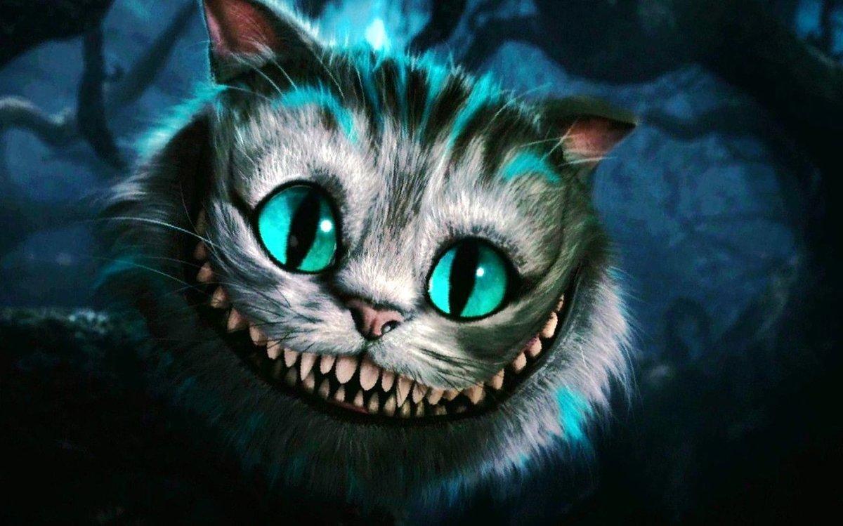 Открытка чеширский кот, аву для девушек