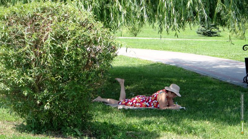 Температура воздуха ВТамбове перевалила за 30-градусную отметку
