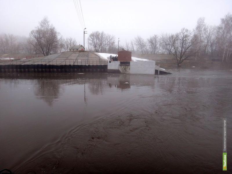 Пик паводка на Тамбовщине придётся на 20 апреля