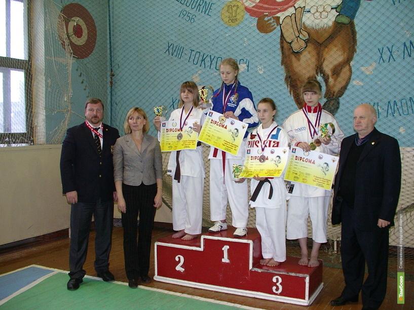 Каратисты Тамбовщины привезли две медали с Кубка Содружества