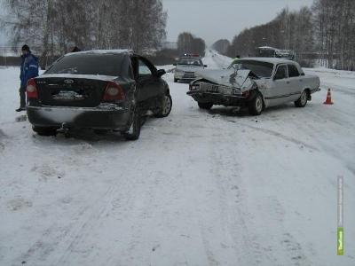 Три женщины пострадали в ДТП на Тамбовщине