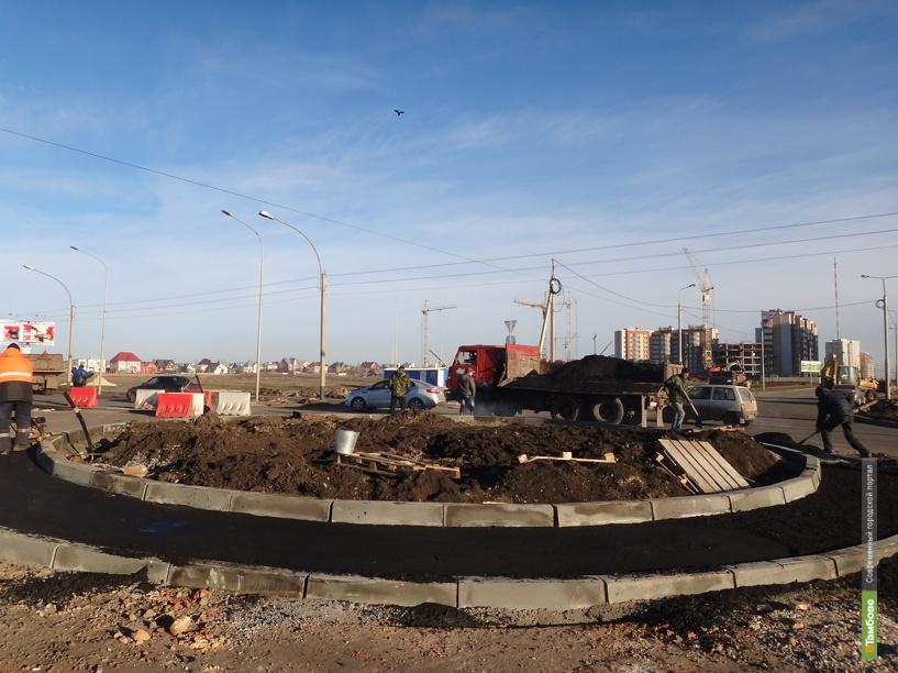 На улице Мичуринской появились еще два кольца