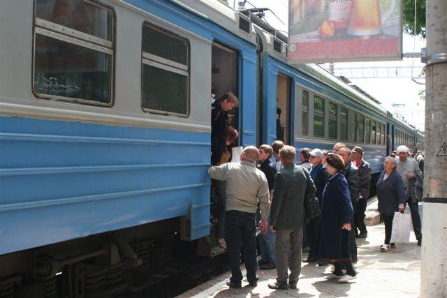 Пригородный поезд до Сабурово перестанет ходить по выходным