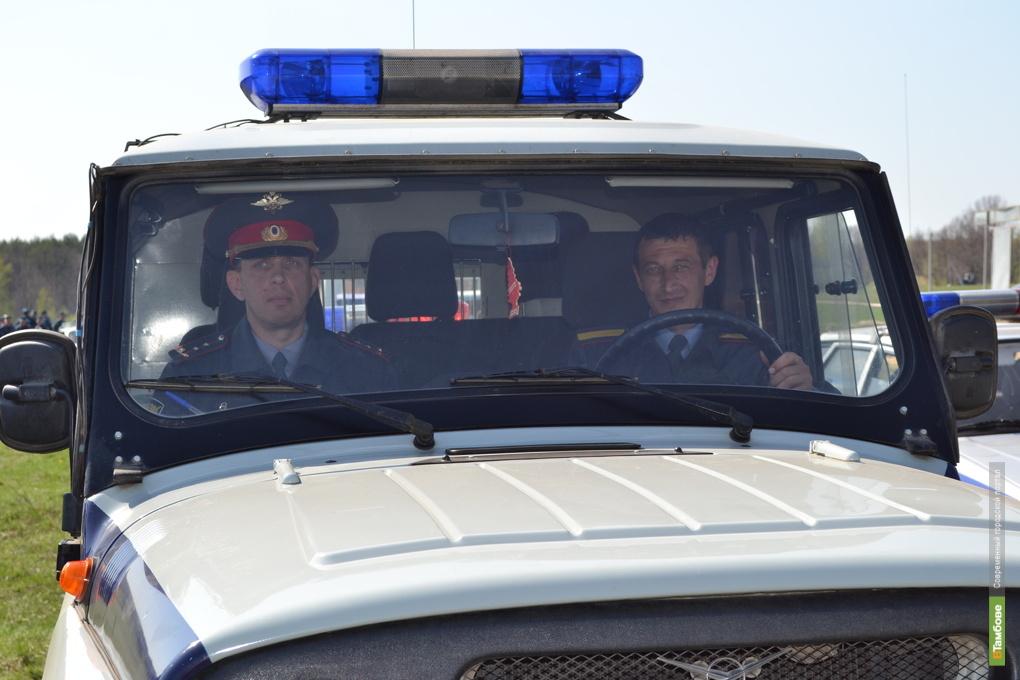 Тамбовские полицейские задержали рязанских преступников