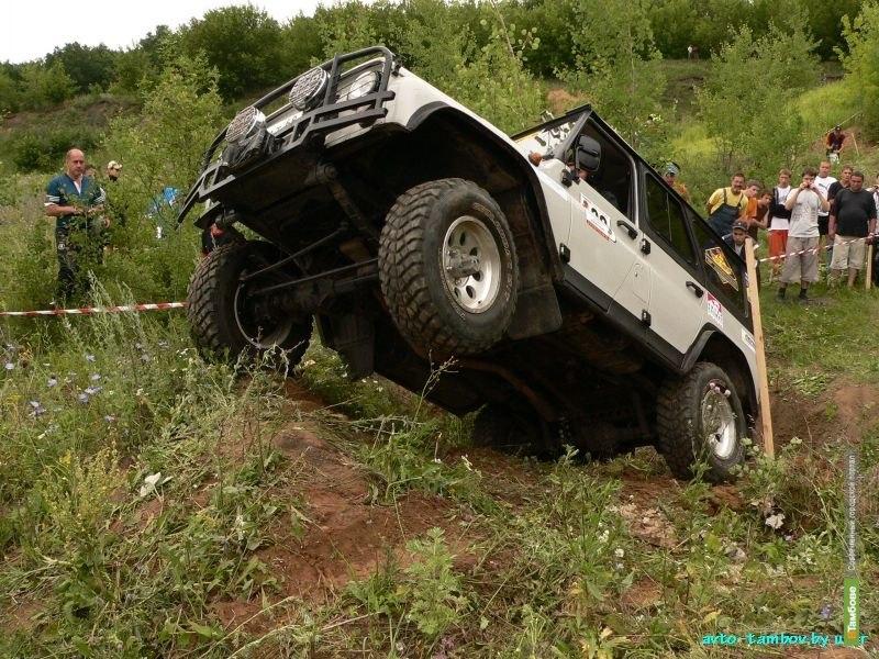 Тамбовские автомобилисты выйдут на «Волчью тропу»
