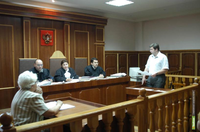 Тамбовчанина накажут за неуважение к суду