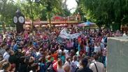 В городском парке культуры и отдыха города Тамбова впервые состоялся день мыльных пузырей