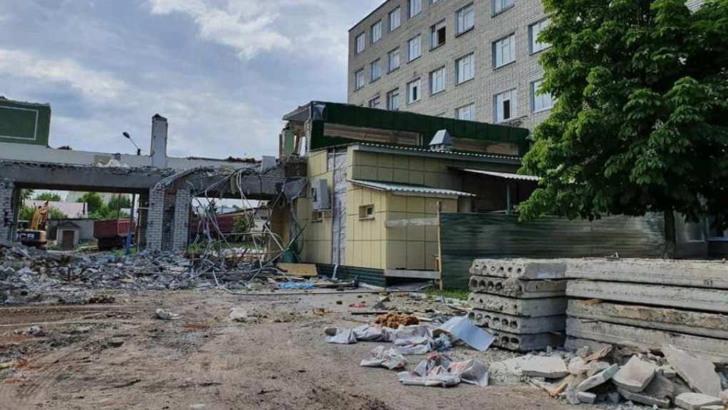 В Тамбове начали ремонтировать педиатрический корпус детской областной больницы