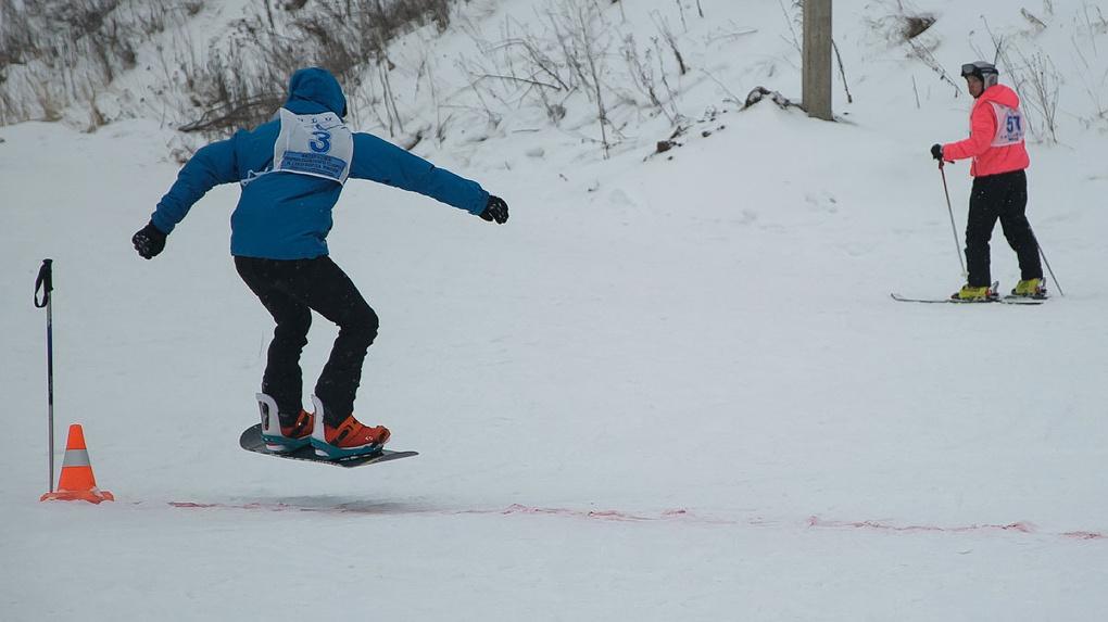 Хватай доску, беги в карьер: в Тамбове открыли горнолыжный сезон