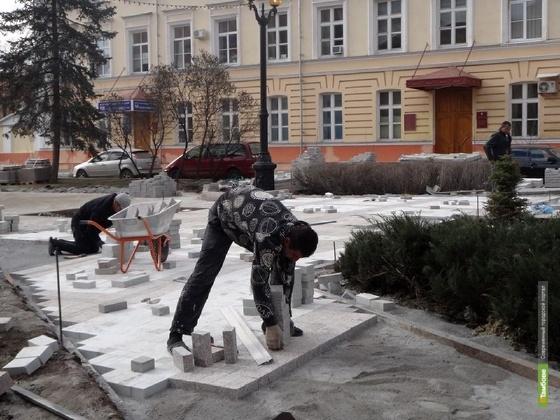 Тамбовские скверы привели в порядок за 24 миллиона рублей
