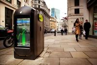 Жители Лондона будут узнавать новости из мусорных баков