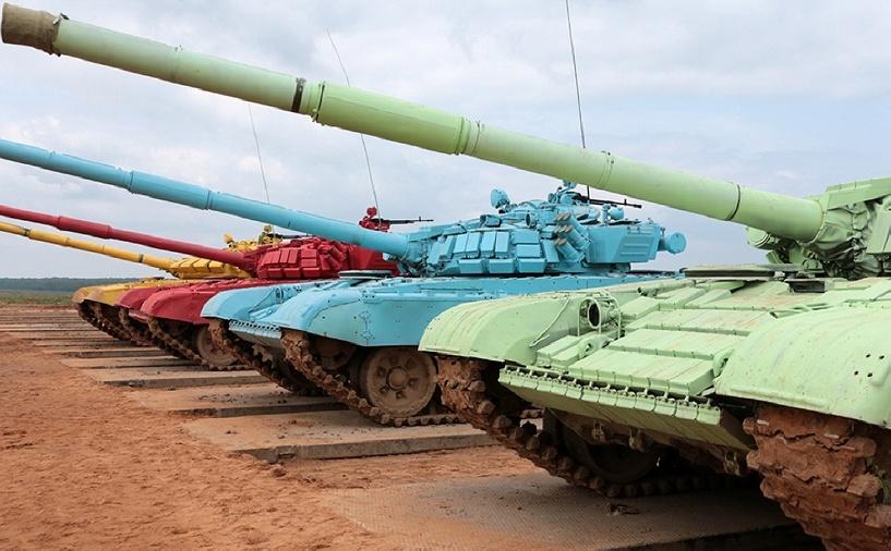 Россия выиграла чемпионат мира по танковому биатлону