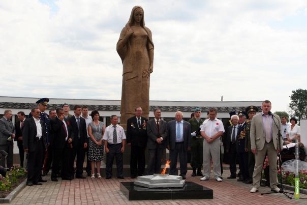 На Тамбовщине открыли еще один мемориал в честь погибших в Великой Отечественной войне воинов