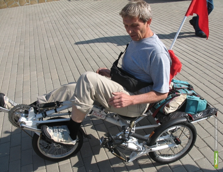 Тамбов стал конечной точкой необычного велопробега
