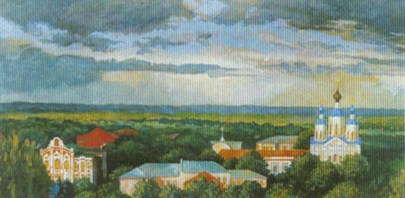 В Тамбове состоится юбилейная выставка тамбовского живописца Олега Гаврилова