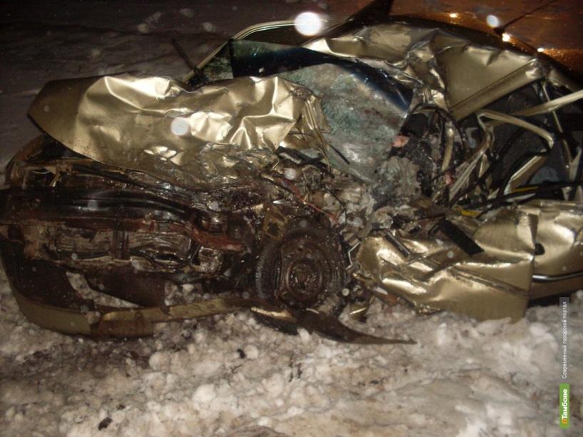 На предновогодней неделе в ДТП погибли двое тамбовчан
