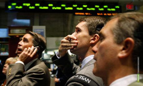 Фондовые торги в США завершились рекордным обвалом котировок