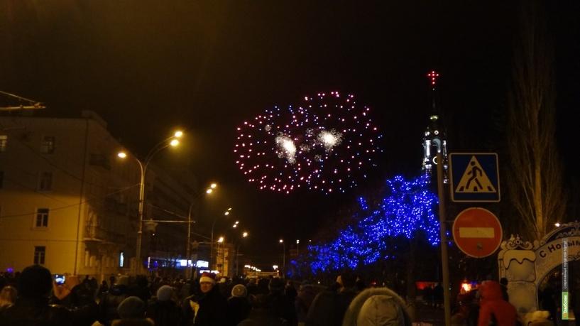 На Новый год тамбовчан ждет три салюта