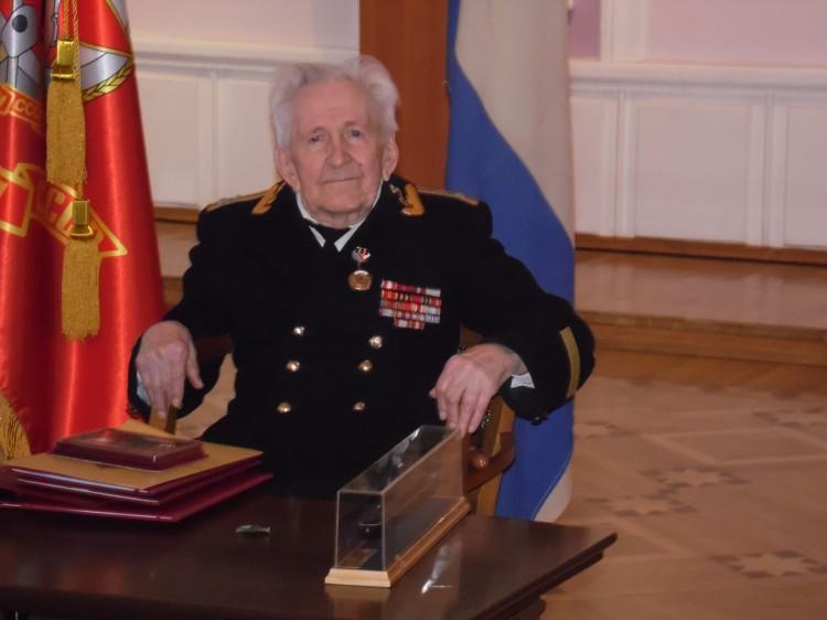Старейший ветеран-подводник отметил 101 день рождения
