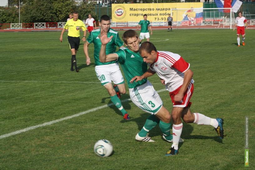 Тамбовские власти дали «добро» на слияние «Спартака» с «Академией футбола»