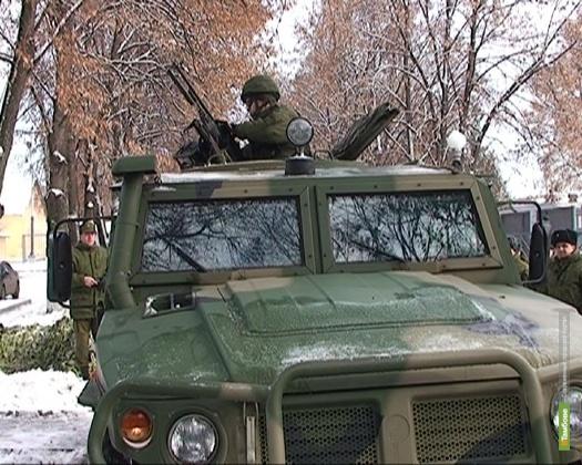 В Вооруженные силы РФ записывают на тамбовской бирже труда