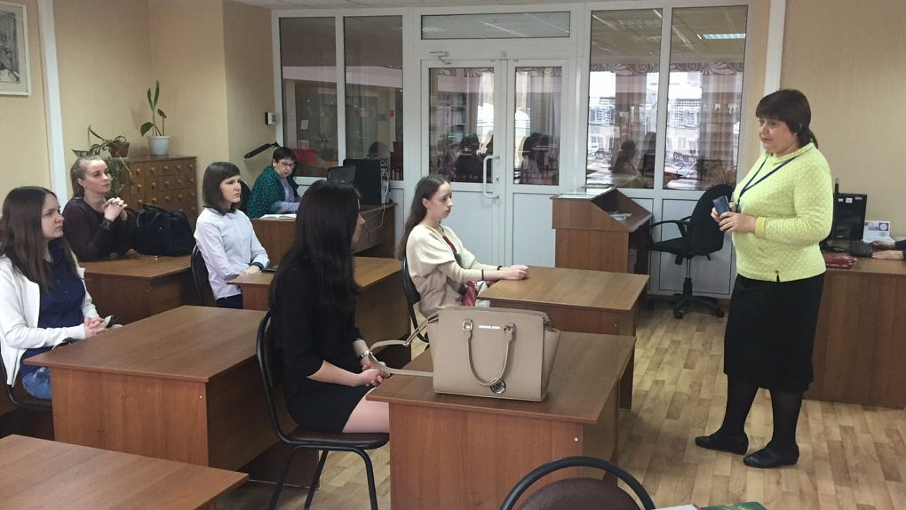 Студенты-юристы Тамбовского филиала РАНХиГС посетили дни информации в Пушкинской библиотеке