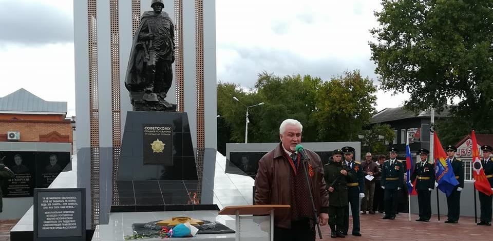 В Рассказово открыли долгожданный мемориал павшим воинам