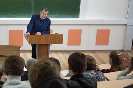 Студентам ТГУ прочитали лекцию о наноэлектронике