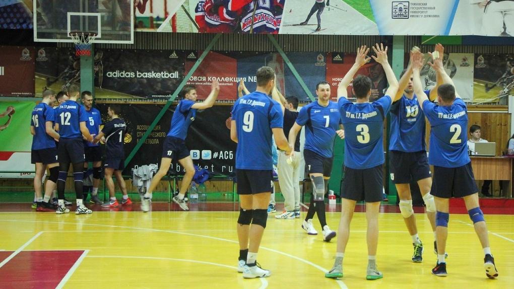 На кону - медали: ВК «Тамбов» одержал уверенную победу в первом матче финала «А»