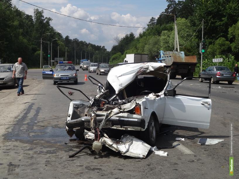 Аварийность на дорогах Тамбовщины снизилась всего на 2 процента
