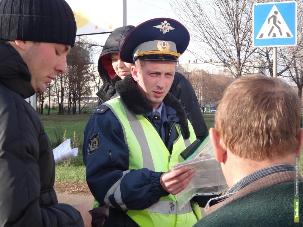 Автоинспекторы проверят тамбовских автомобилистов на трезвость