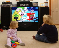 Родителям дадут 8 секунд, чтобы убрать от телевизора детей