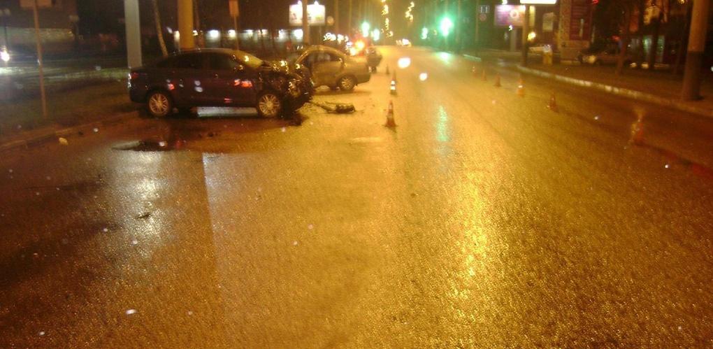 В центре Тамбова в результате ДТП погиб мужчина