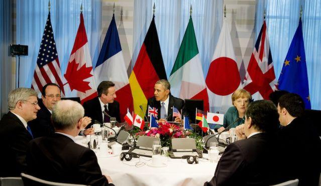 Лидеры G-7 анонсировали санкции против приближенных к Путину