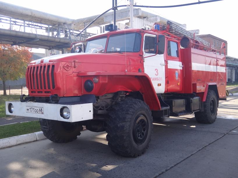 В Тамбове в результате пожара погиб мужчина