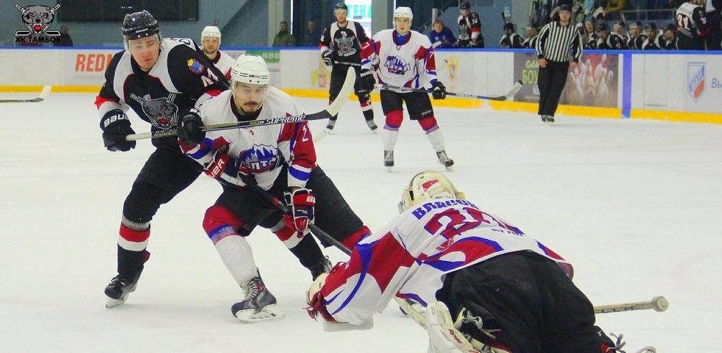 ХК «Тамбов» одержал вторую победу над «Алтаем»