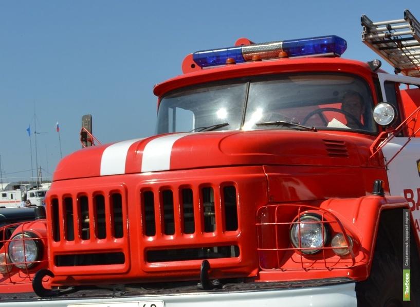 В Первомайском районе в огне погиб человек