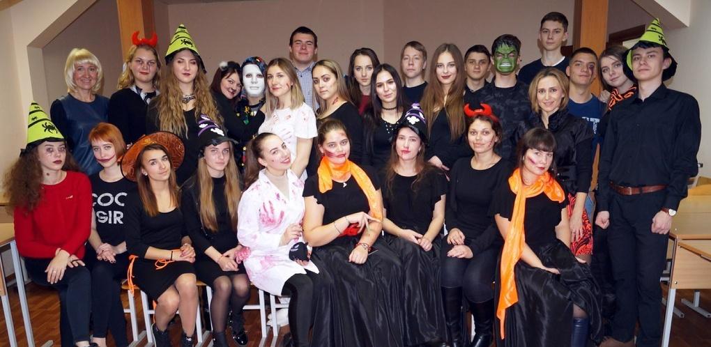 В Тамбовском филиале РАНХиГС отметили Хэллоуин