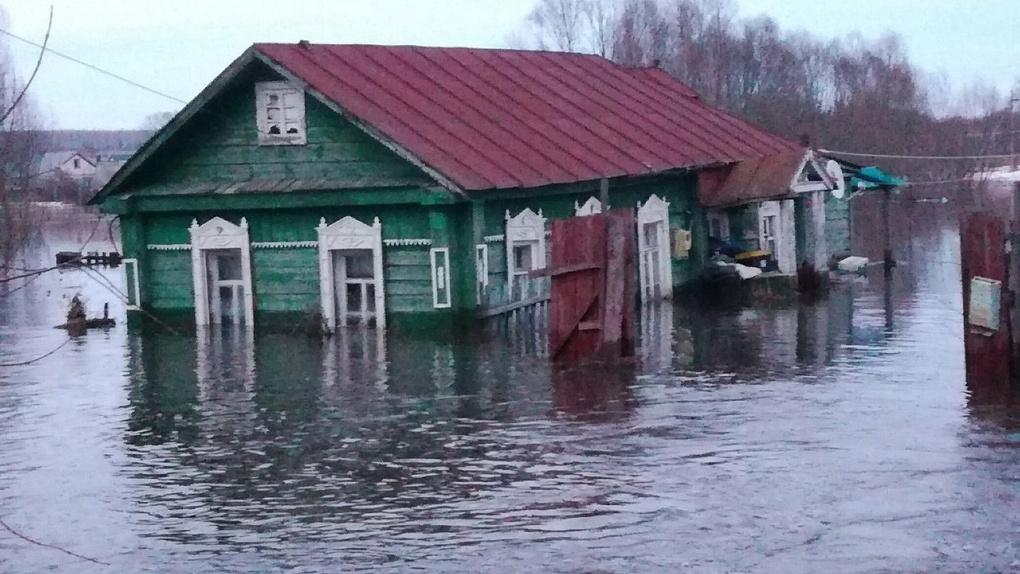Из подтопленных домов Моршанска эвакуировали 22 человека: город справляется с паводком