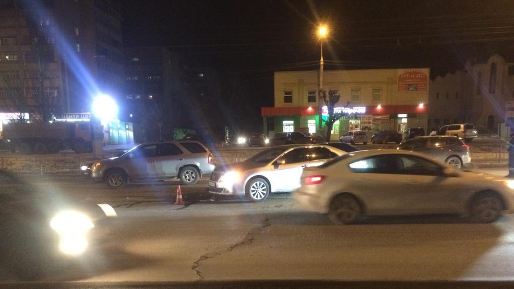 На севере Тамбова в ДТП пострадал один человек