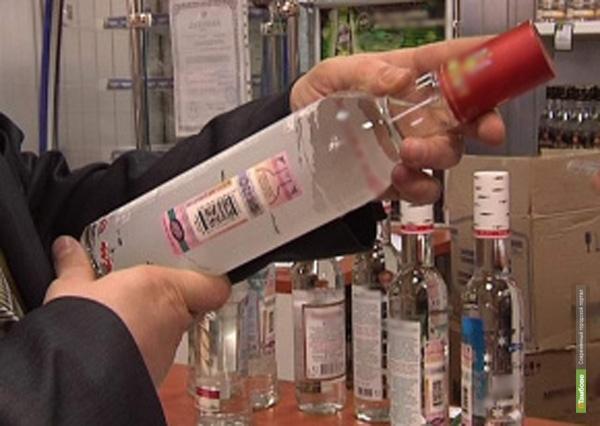 В одном из гаражей в Тамбове торговали алкогольным контрафактом