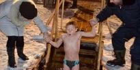 В Тамбове первый день крещенских купаний прошёл с аншлагом