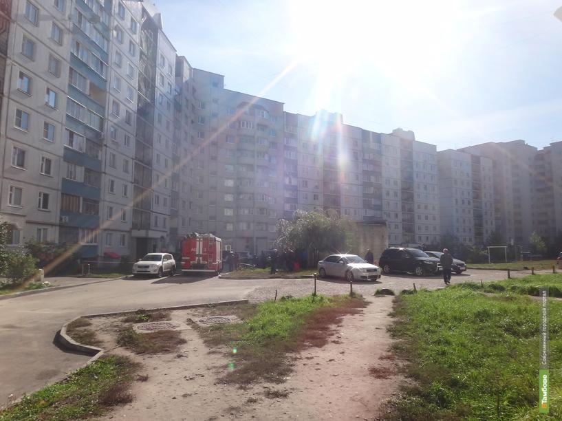 В Тамбове в подъезде дома по улице Рылеева обнаружили подозрительный пакет