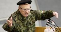 Команданте Же. Владимир Жириновский пришел в Госдуму в камуфляже