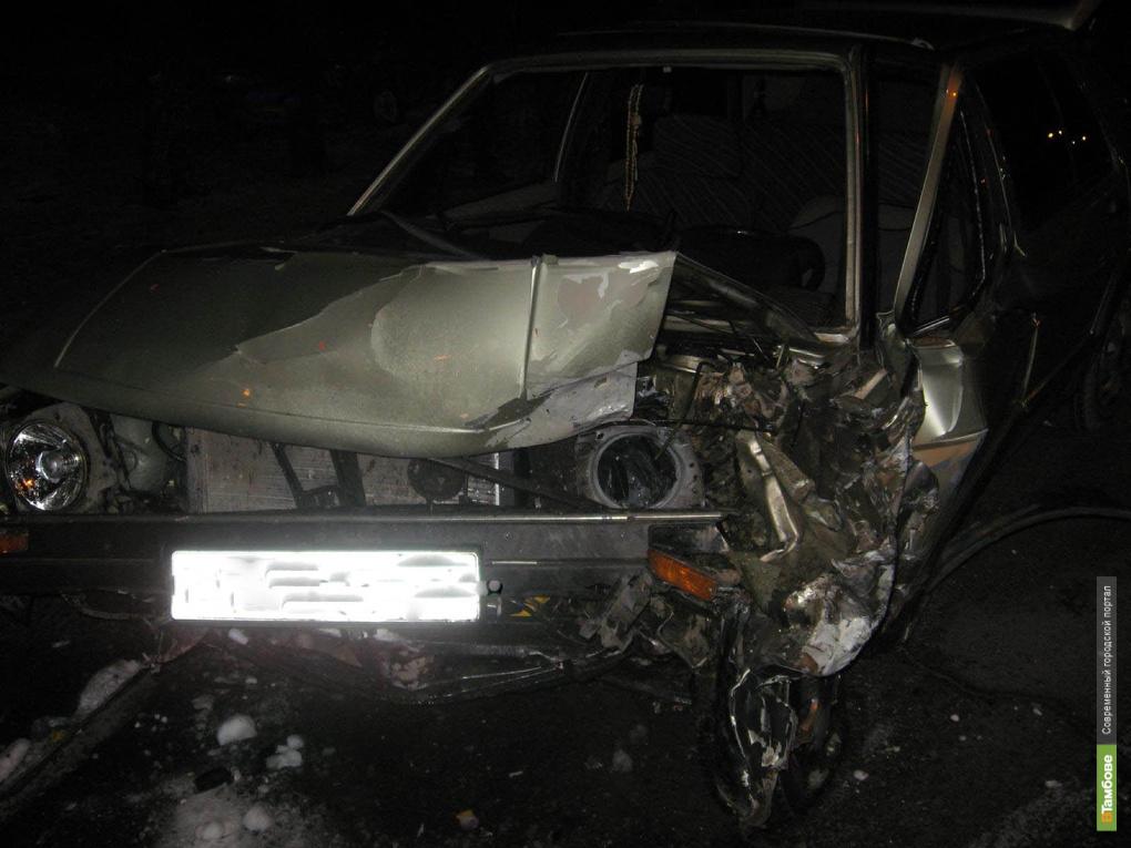 Пьяный водитель из Брянска собрал на тамбовской трассе 3 авто