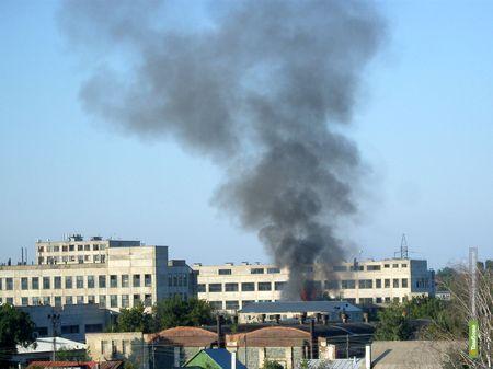 Тамбовские пожарные трижды выезжали на борьбу с огнём