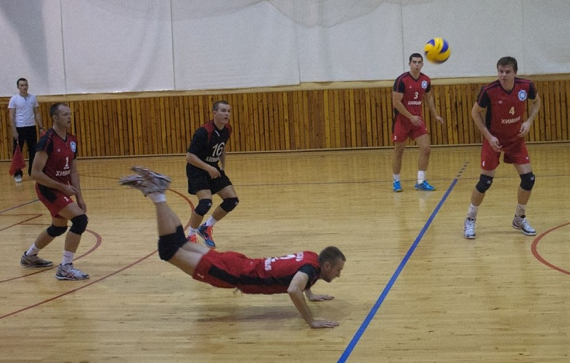 ВК «Тамбов» обыграл соперников из Острогожска