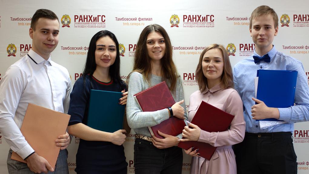 Тамбовский филиал РАНХиГС продолжает занимать второе место в рейтинге филиалов Академии по медиаиндексу