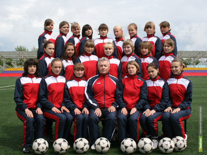 Женская команда «Академии футбола» возобновила тренировки
